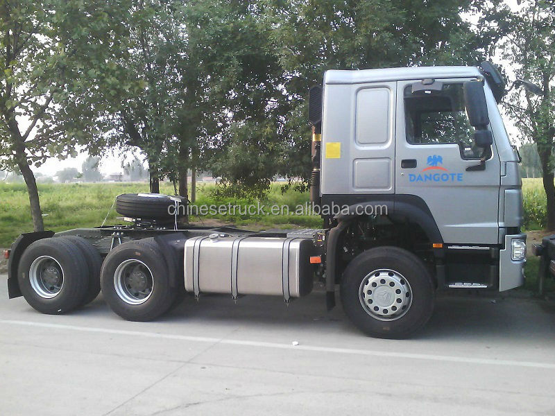 Sinotruk Howo Lhd 10 Wheel Freightliner Used Trucks 6 4 For Sale