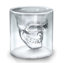 75mL Crystal Skull head Shot Glass Cup For Whiskey Wine Vodka Home Drinking Ware Man Gift Cup