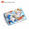 Hot sale custom 3d anime printing mouse pad