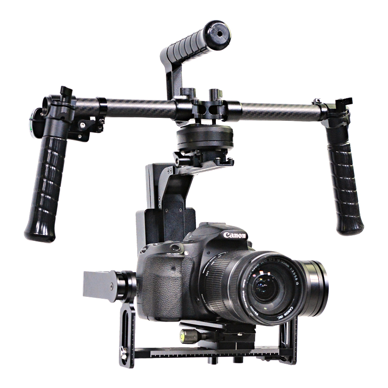 YELANGU G2 3 Axis Brushless Gimbal Stabilizer for DSLR Camera