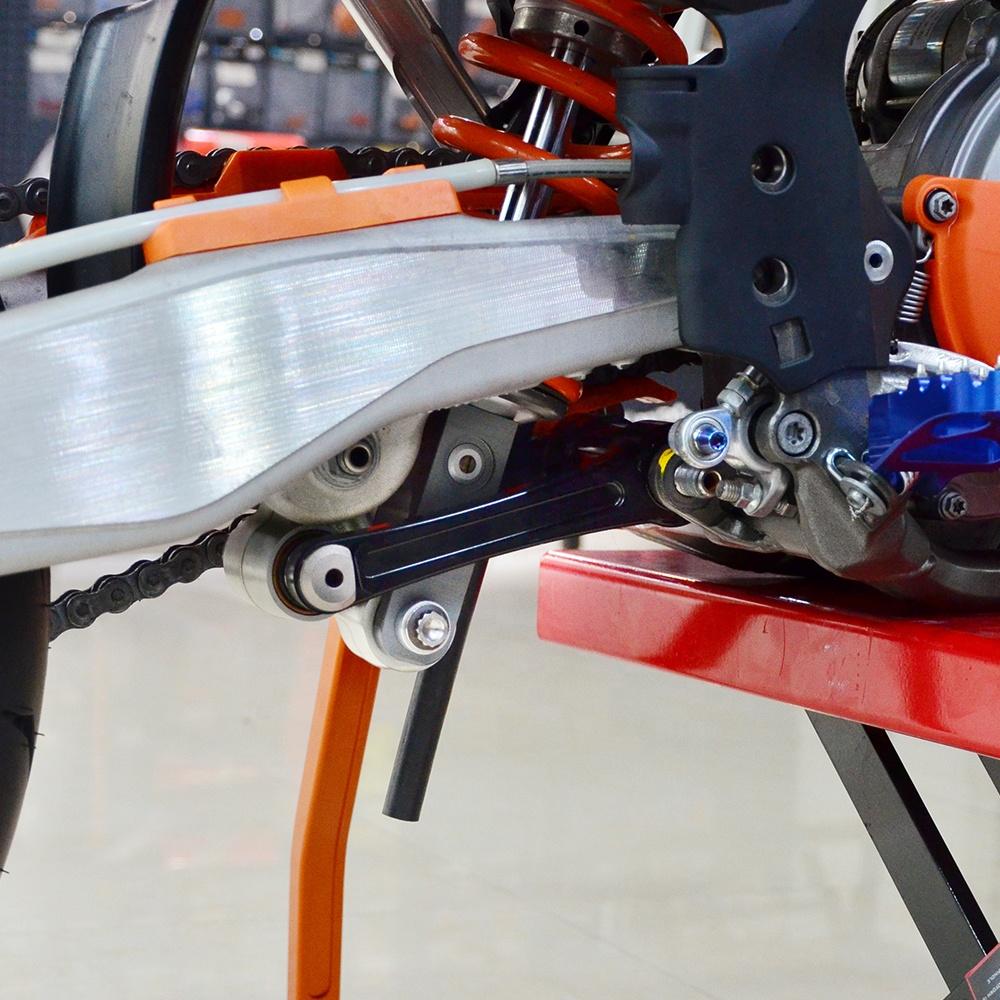 NiceCNC 먼지 자전거 알루미늄 링크 하부 KTM 125 SX 450 XC-F 350 XC-F 250 SX-F 300 XC 2015-2019