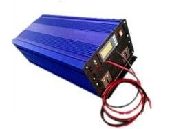 GOWE 3000W DC12V/24V AC110V/220V Off Grid Pure Sine Wave Single Phase Inverter with Charger and LCD Screen