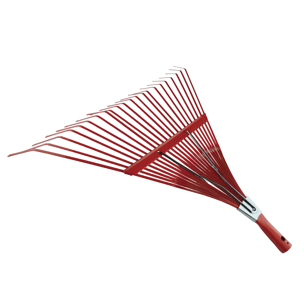 High quality garden tools steel leaf rake