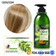 OEM wholesale olive oil anti-dandruff smoothing shampoo for dry hair