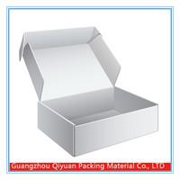 China Supplier custom printed unique White Corrugated Shipping Box