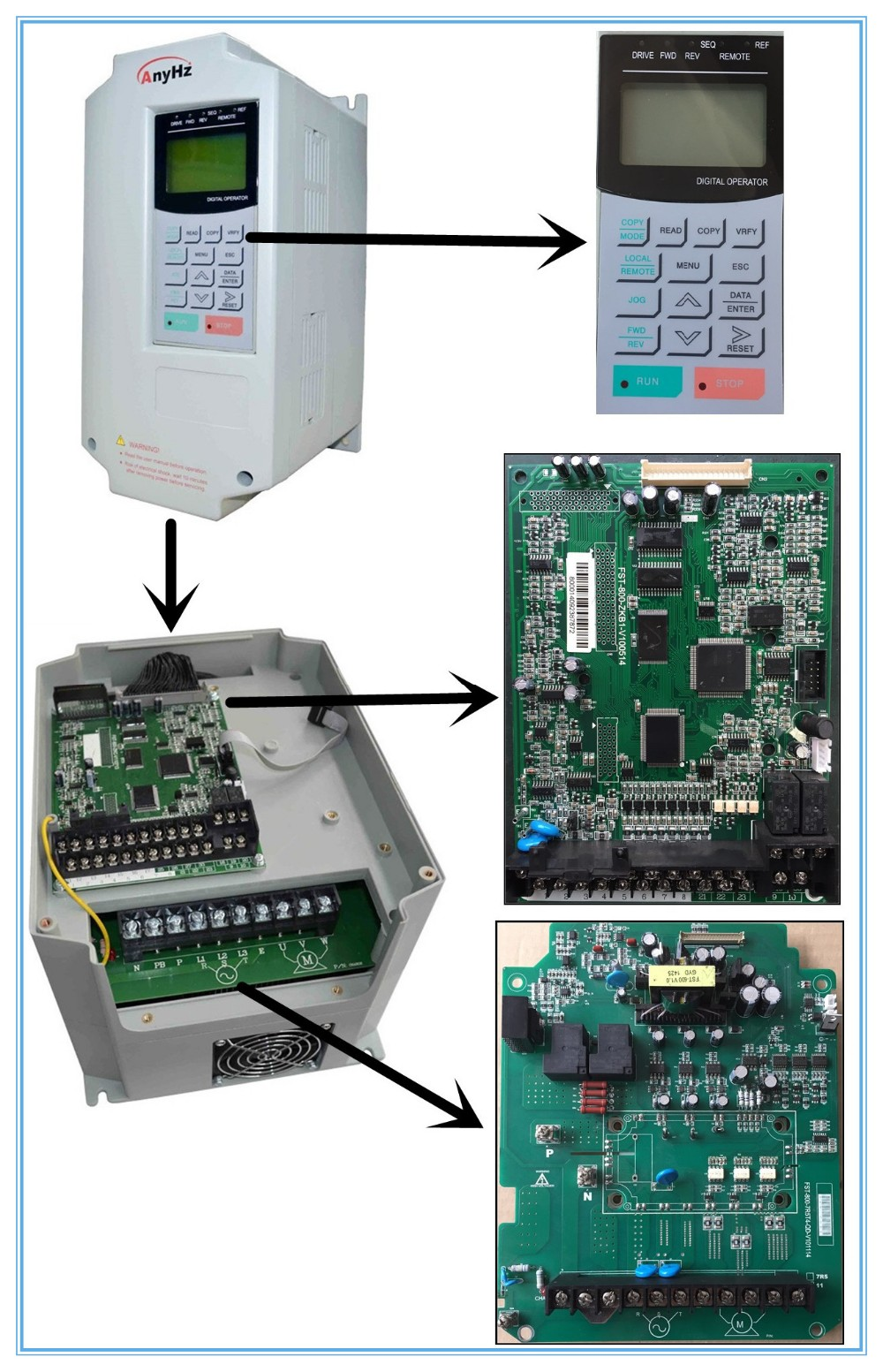 how to make a variable frequency drive