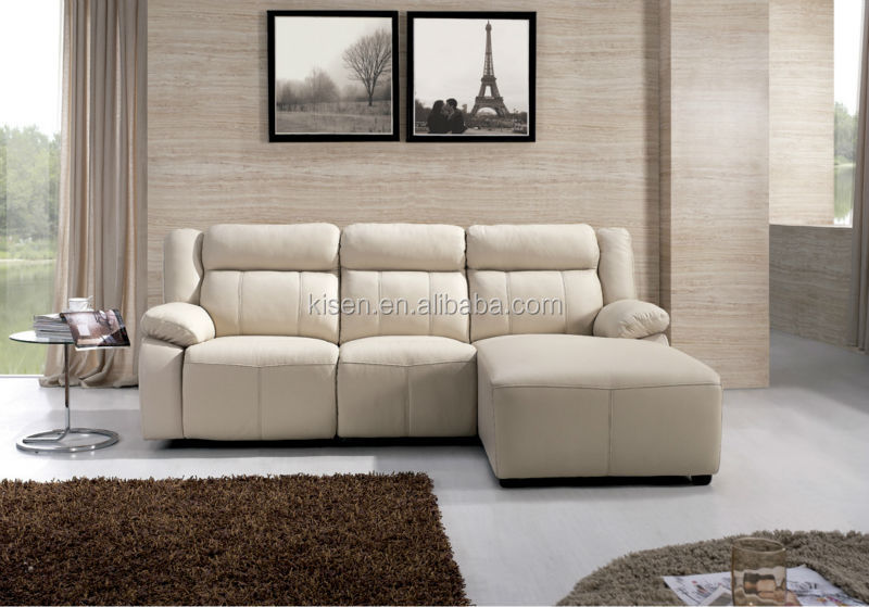 Living Room Furniture Leather Corner Recliner Sofa Chaise Lounge : reclining sofa chaise - Sectionals, Sofas & Couches
