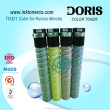 TN321 color copier toner for Konica Minolta Bizhub C224 C284 C364 refill toner powder