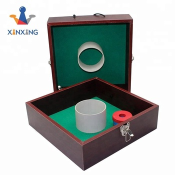 Wood Washer Toss Set Outdoor Box Backyard Party
