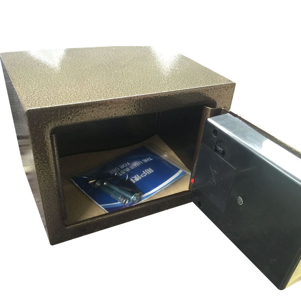 heavy duty wall mounted fireproof electronic security steel safe box