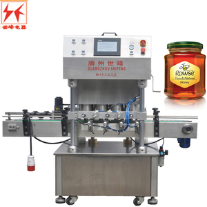 twist off cap vacuum glass jam jar bottle capping machine / manual glass bottle capping machine