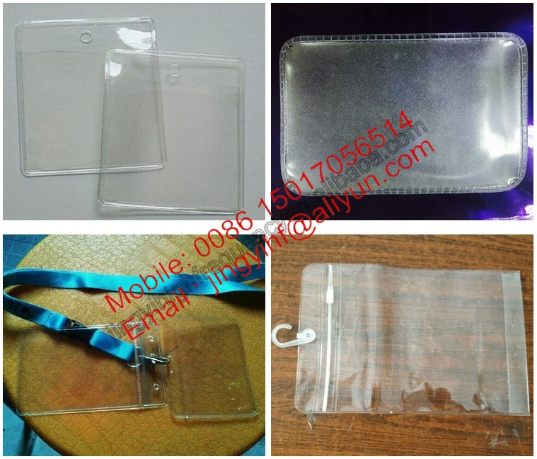 Automatic PVC Bag/Pocket/Book Cover High Frequency Welding Machine
