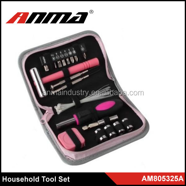 Stainless Steel Professional Household Lady women Tool Kit
