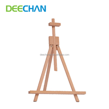 Wholesale Portable Adjustable Kids Paint Table Top Canvas Mini Easel