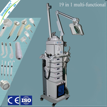 19 in 1 Multi-functional Diamond Dermabrasion /Ultrasonic Vacuum/High Frequency Skin Care Beauty Machine