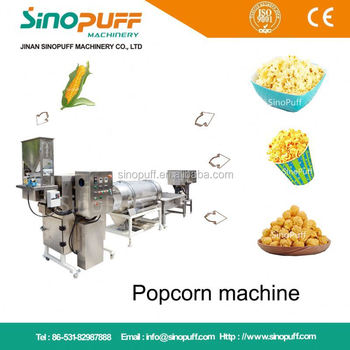 Factory Popcorn Popped Machine Industrial Used