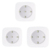 Goldmore  3W Wireless Remote control 5SMD LED Puck Light for Cabinet,Closet