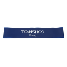 TOMSHOO Set von 4 Übung Widerstand Schleife Bands Latex Gym Krafttraining Loops Bands Training Bands Physiotherapie Y5040BL