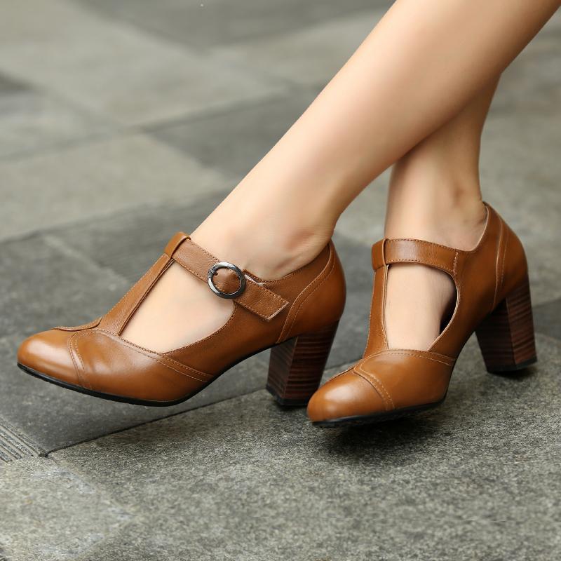 ffb28d5b33b09 vintage leather shoes womens