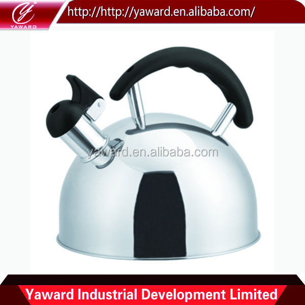 High Quality Mirror Polished Stainless Steel Whistling Tea Kettle