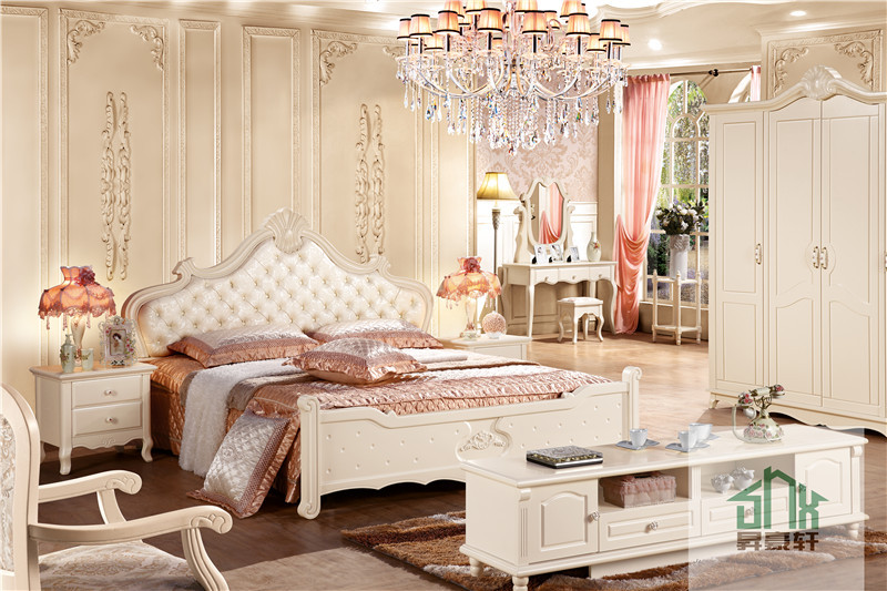 Chinese Factory Adult Bedroom Set Furniture HA-821# Bedroom ...