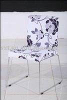 comfortable fabric covered dining chair modern design