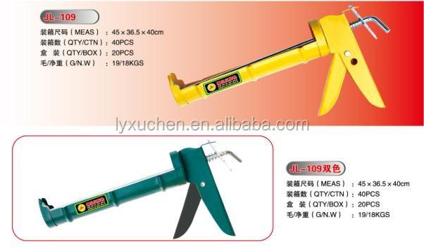 Construction Manual Power Caulking Gun Cheap Silicon Gun