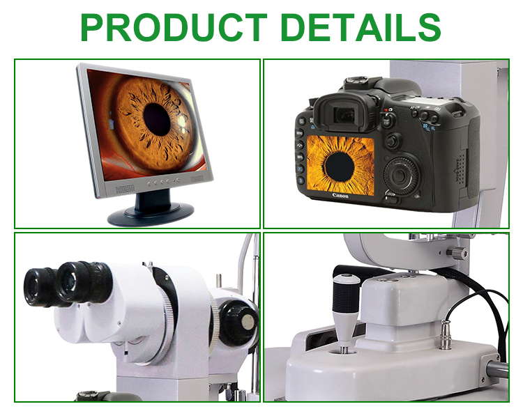 IN-V3ER-E Medical  high quality table tonometer Magnifications  slit lamp Equipment