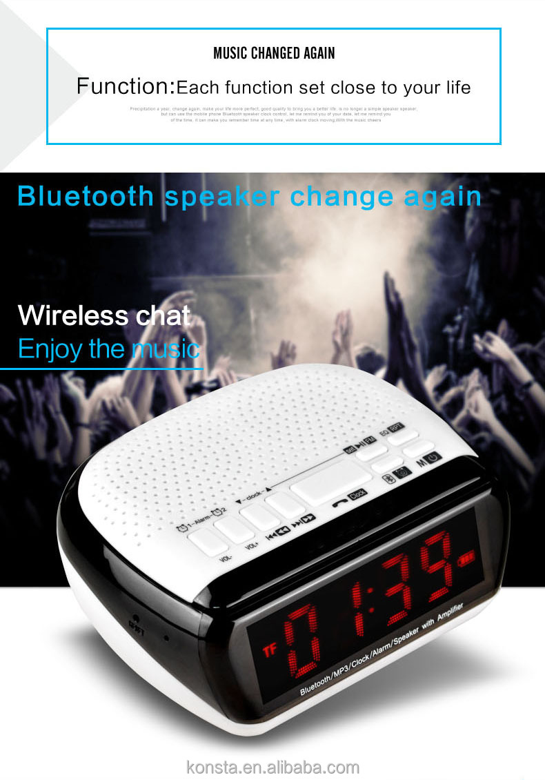 Bluetooth Speaker Long Time Play Music/speaker/answering Phone ...