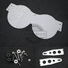 Front Headlight Clear Poly Lens Guard Cover Protector Fit For KTM 640 ADV