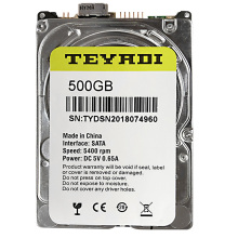 "500 gb Interno Sata Unità Disco Rigido da 2.5 ""Pull HDD per PC/Laptop"