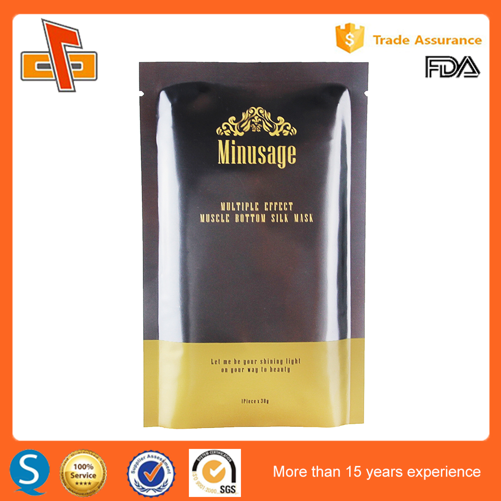 Online shopping heat seal foil laminated cosmetic sachet packaging with wholesale price