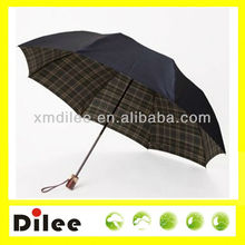 nice black rain 3 folding mens umbrellas