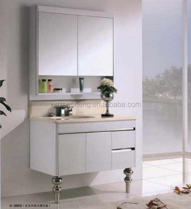 Stainless Steel Bathroom Vanity Cabinet Stainless Steel Bathroom Vanity Cabinet Suppliers And Manufacturers At Alibaba Com