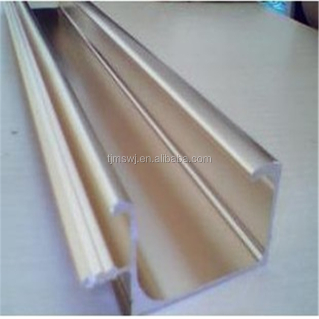 Colored Powder Coated Aluminum structural framing, 6000 series material for furniture usages