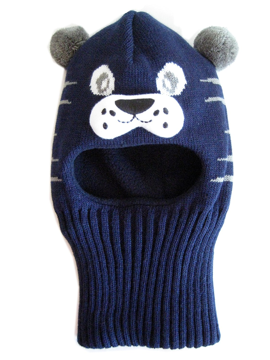 d5463cb195b0b Get Quotations · Frost Hats Warm Winter Fleece Lined Balaclava for Kids Ski  Mask for Boys and Girls M