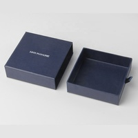 custom logo handmade sliding cotton filling kids branded jewelry boxes guangzhou