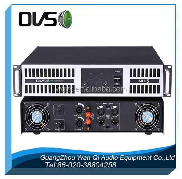 NH series 2 Channel 2000W Professional Power DJ Amplifier 2U