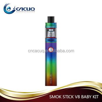 2017 Hot New Products Smok Stick V8 Baby Kit 2ml Vape Pen Starter