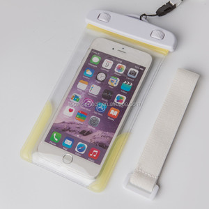 2019 New Arrival Posh Touch Screen Waterproof Cell Phone Case Bag With Armband For 4.5-6 inch Mobile Phones OEM Available