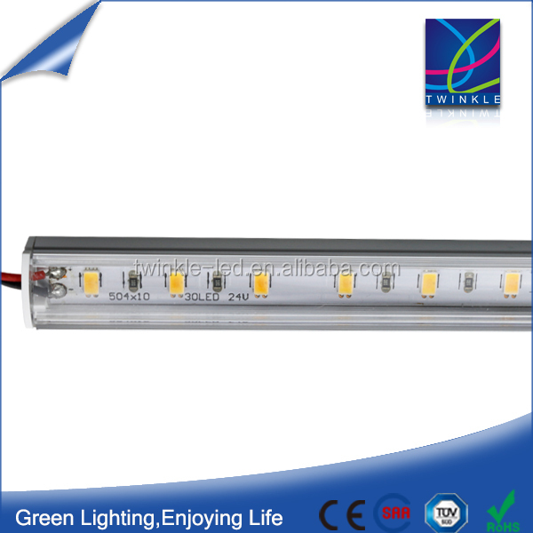 120lm/W Samsung smd 5630 1m led strips in profile aluminium 18W 2000lm 24V