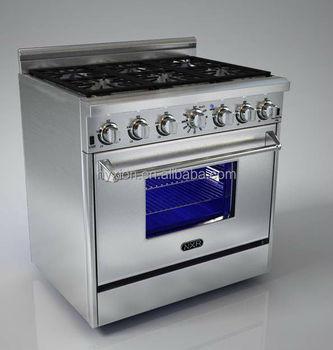 Hyxion Thor Kitchen Hrg3618u Stainless Steel Gas Range Reviews 122 500btu