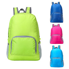 Lightweight Foldable Waterproof Nylon Women Men Children Casual Backpack Travel Outdoor Sports Camping Hiking Bag Rucksack