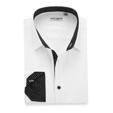 Mens <span class=keywords><strong>Casual</strong></span> 100% Cotone <span class=keywords><strong>Camicie</strong></span> Bianche