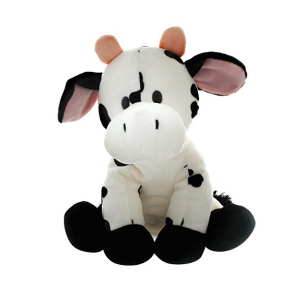 Excellent Craft Lovely Soft Toy Cow Stuffed Animal Stuffed Black Cow