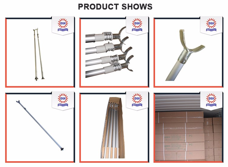 Aluminum with Abundant Experiences Scaffolding Formwork Steel Prop Shoring Prop Support System Tubular Props