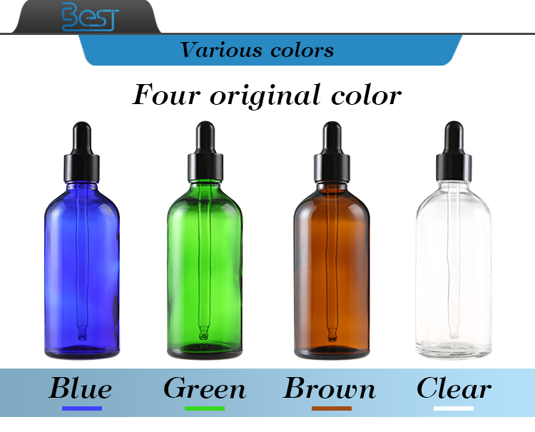 skin care 10ml 20ml 15ml 30ml green  essential oil glass bottle