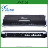 Grandstream UCM6104 IP PBX System Supporting for 20000 Faxes