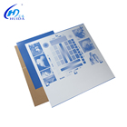 China anodized offset printing uv ctp ctcp plate used on amsky ctcp machine
