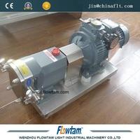 ZB3A-12 rotor lobe pump/rotary lobe pump for chocolate transfer